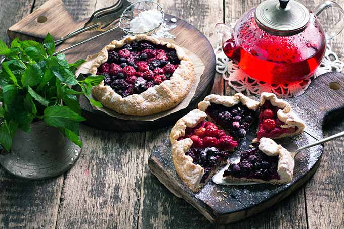 Berry and Blackcurrant Galette | Foodal.com