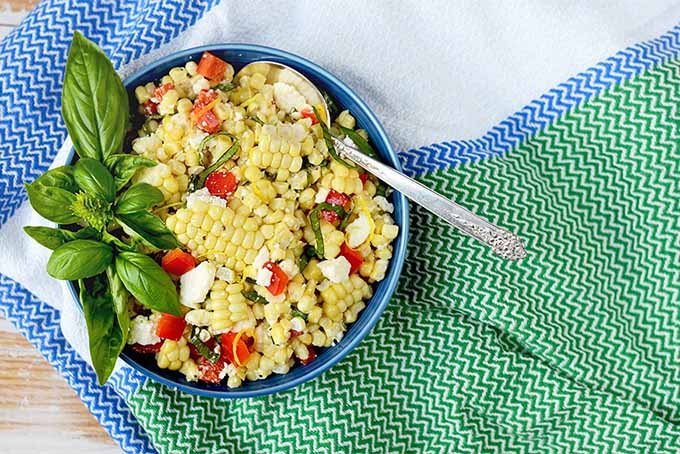 Corn Salad with Basil | Foodal.com