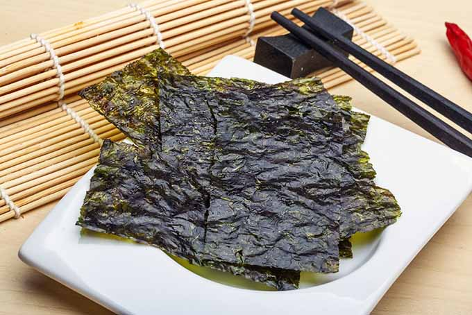 Nori Sheets with Bamboo Sushi Mat | Foodal.com
