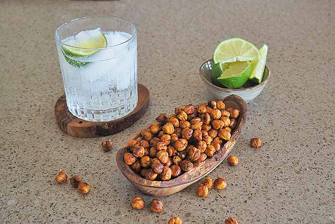 Roasted Beans with Limes and a Drink | Foodal.com