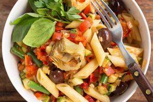 Sicilian Pasta Salad with Bold Mediterranean Flavors