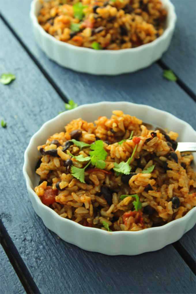 What do you prefer: canned or dried beans? If you are torn between the two, read this article from Foodal to determine which is best for your own cooking needs, and get some yummy recipe ideas, like The Fitchen's Mexican Rice and Beans: https://foodal.com/knowledge/paleo/canned-dried-beans/