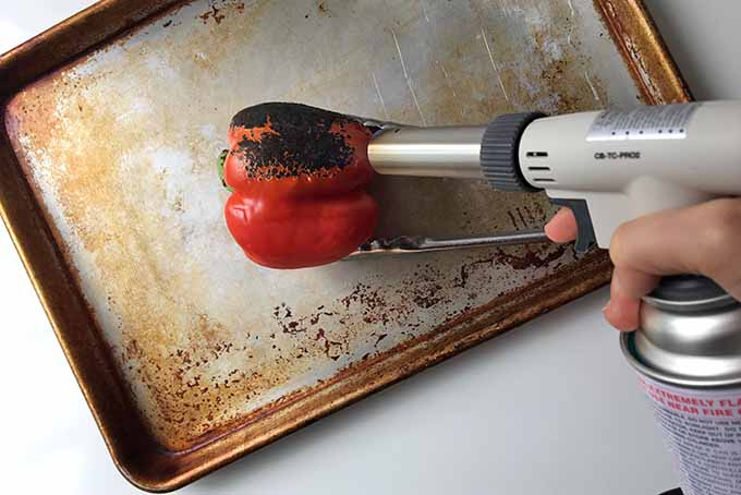Torching a Red Pepper | Foodal.com