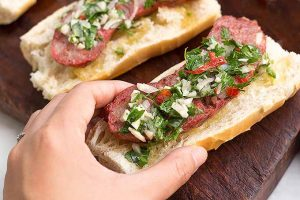 Argentine Choripan with Chimichurri