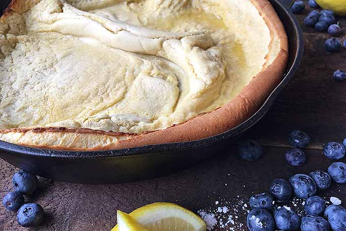 Cast Iron Dutch Baby | Foodal.com