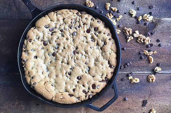 Chocolate Chip Cookie in a Skillet | Foodal.com