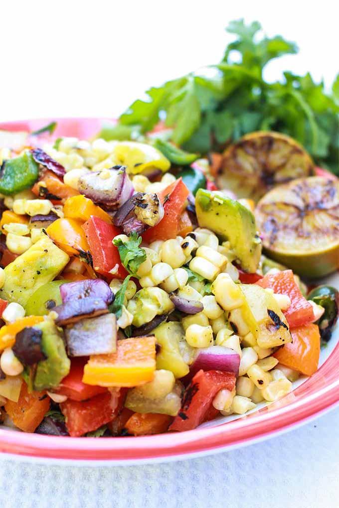 Grilled Fiesta Salad | Foodal.com