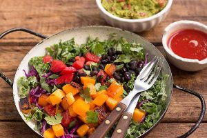 Colorful Fiesta Kale Salad
