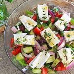 Homemade Greek Salad Recipe | Foodal.com