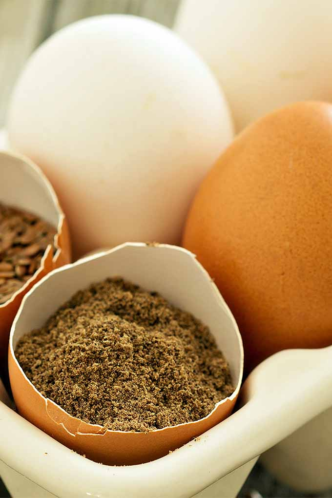 Ever baked with a flax egg? We'll teach you about this egg-free baking substitution, and more! Read it now or pin it for later: https://foodal.com/knowledge/baking/egg-free-substitutes/