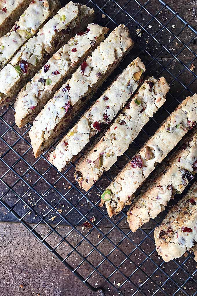 Learn how to make biscotti, a classic Italian dessert that's crunchy, sweet, and perfect for dunking in your coffee! We share the recipe now: https://foodal.com/recipes/deserts/italian-biscotti-cookies-with-dried-cherries-raisins-and-pistachio-nuts/