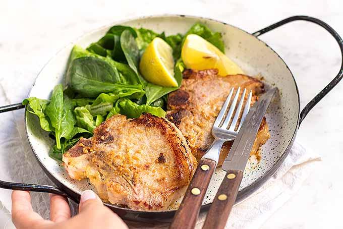 Recipe for Honey Mustard Pork Chops | Foodal.com