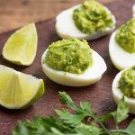 The Best Fresh Guac Deviled Eggs | Foodal.com