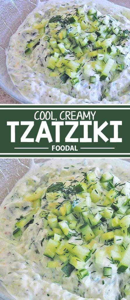 Tzatziki is the richly creamy and slightly tart yogurt and cucumber sauce that a perfect condiment with Greek and Mediterranean cuisine. It's also an ideal accompaniment with grilled foods, as a veggie dip, to spread on breads, and for salad dressings. Try our fresh and tangy recipe today!