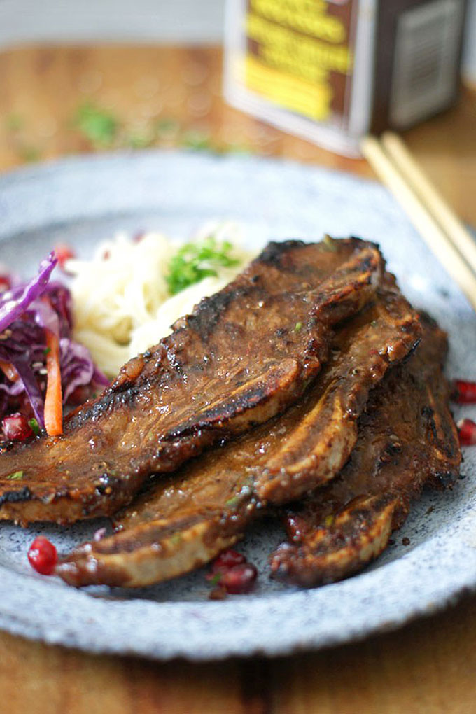 Molasses is a versatile sweetener that can be used in a range of dishes, like these Korean Influenced Short Ribs from Sugar Loves Spices. We share other recipes that feature this amazing ingredient here: https://foodal.com/knowledge/baking/why-try-molasses/