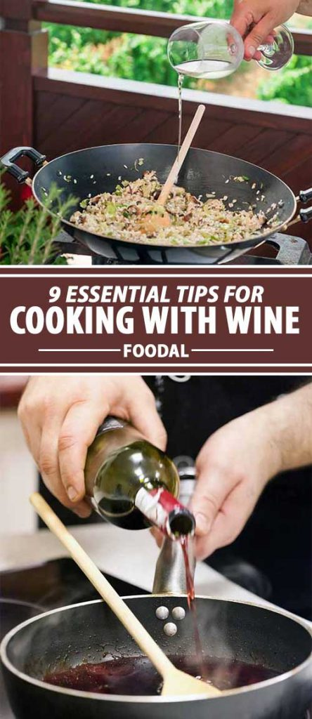 Cooking with wine can add a wonderful extra dimension of flavor and fragrance to a wide variety of meals. A splash of vino can be used in entrees and desserts, baked goods, sauces, soups, and stews, to poach fish or fruit, and even to replace unhealthy fats in some dishes. Not sure how to make the right choice for your recipe? Find all the information you need right here on Foodal.