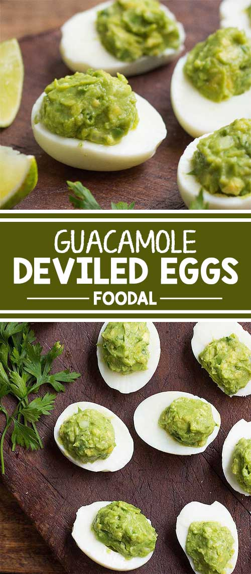 Take the classic deviled eggs up a notch by making this healthier option instead. Fill the eggs with homemade guacamole, and serve them at your next cocktail party. These look absolutely elegant, are so easy to make and serve, and will wow your guests. Ready to host the best party with the tastiest apps? Click to get the recipe from Foodal today!