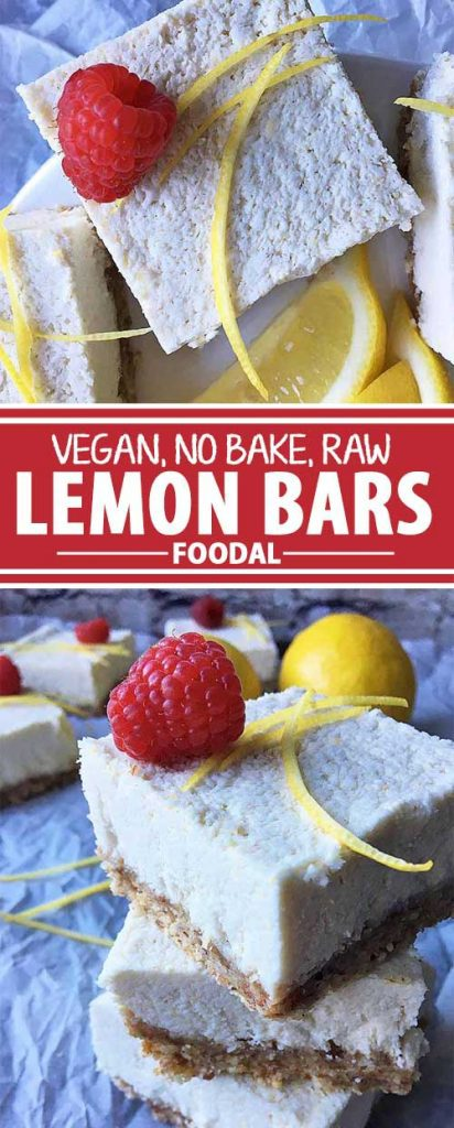 Love lemon bars, but looking for something healthier? Pucker up to our no-bake vegan version of this citrus-infused dessert. Made with wholesome ingredients like fresh lemon juice, dates, nuts, and coconut cream, this tangy treat is also free of gluten, dairy, and refined sugars! We share the recipe on Foodal now.