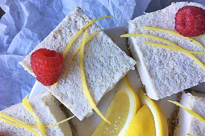 Raw Vegan and Organic Lemon Bars | Foodal.com