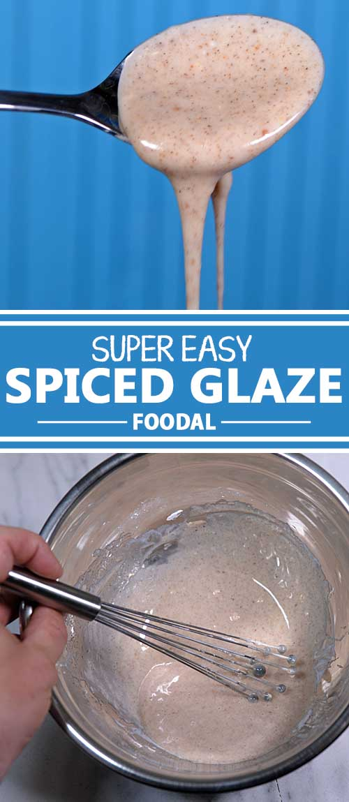 Super Easy Spiced Glaze For Donuts, Cakes, and Other Pastries and Baked Goods