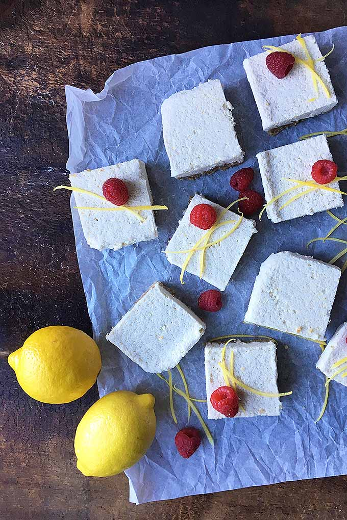Make one of the best vegan, organic, and raw lemon bar desserts! Get this incredibly fresh and tasty recipe here: https://foodal.com/recipes/desserts/raw-and-organic-lemon-bars/