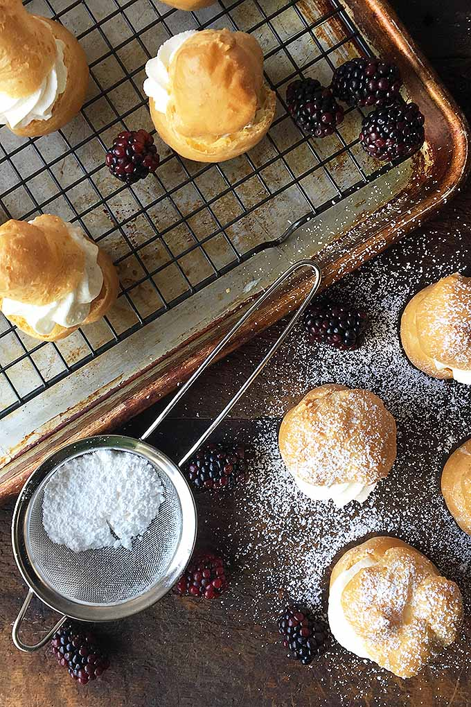 If you are looking for something special for your next event, then take a look at this tasty, French classic! Find the recipe on Foodal now: https://foodal.com/recipes/desserts/the-perfect-party-treat-heavenly-cream-puffs