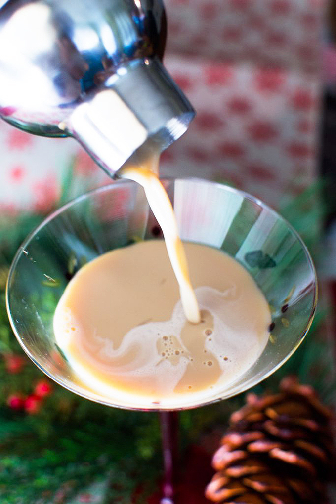 Hunger Thirst Play's gingerbread martinis feature molasses, a versatile sweetener with a sticky past! Read more about this sweet ingredient on Foodal now: https://foodal.com/knowledge/baking/why-try-molasses/