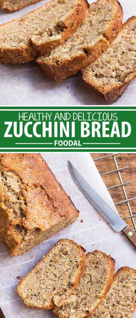 A loaf of homemade zucchini bread makes the perfect addition to breakfast or tea. Easy to make on the weekend, you can enjoy slices throughout the week. And it's a great way to get your family to eat their vegetables without them realizing it! Keep reading for the recipe.