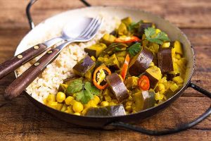 Raise the Heat with Our Spicy Eggplant Curry
