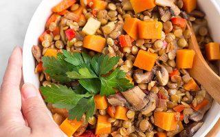 Super Tasty Hearty Argentine Lentil Stew
