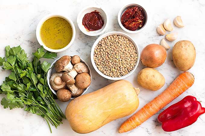 Argentine Lentil and Vegetable Stew   Foodal.com