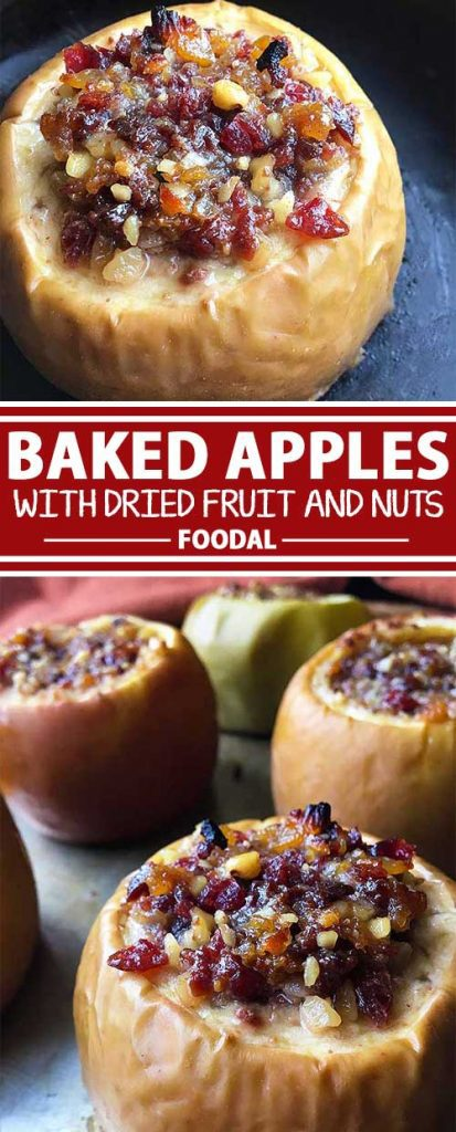 Got a surplus of fall apples? If so, give this baked recipe a try! Stuff apples with a delicious filling of nuts, fruits, and spice, and bake them in cider until nice and tender. Served warm with freshly whipped cream or ice cream, this will be a dish that so many will enjoy this season. Get the recipe now on Foodal.