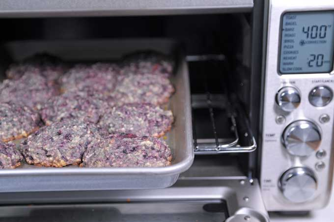 Blackberry scones baked in a toaster oven   Foodal