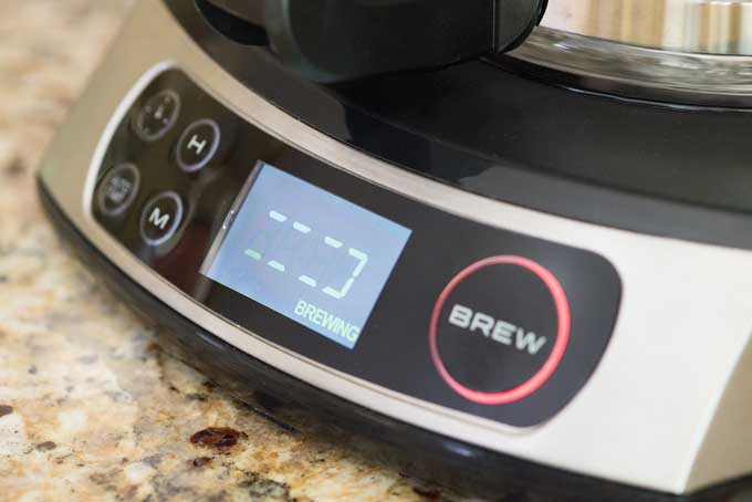 Bunn Programmable HB Coffee Brewer Controls