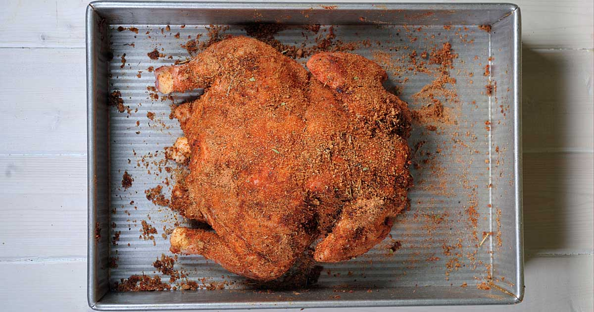 Best All Purpose Dry Rub For Chicken Roasted Grilled Smoked Foodal