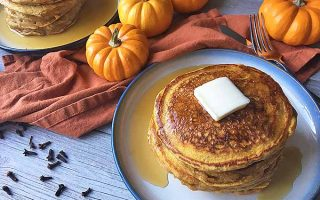 Perfectly Fluffy Pumpkin Spice Pancakes