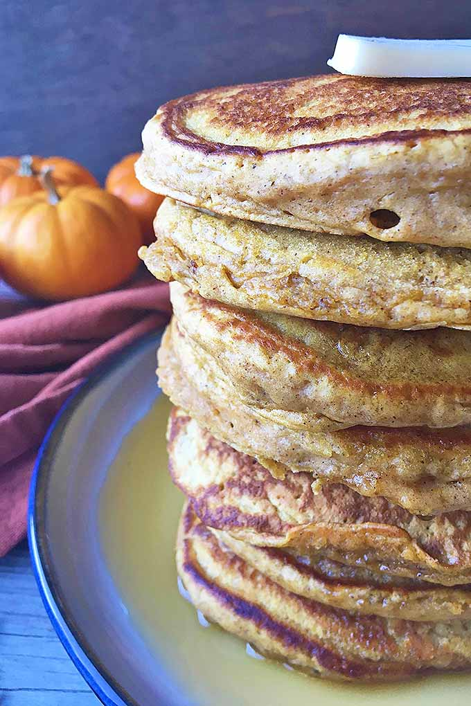 Infuse a little fall fun into your flapjacks! Get our delicious recipe on Foodal: https://foodal.com/recipes/breakfast/pumpkin-spice-pancakes/