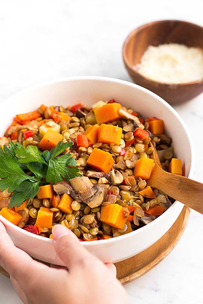 The best authentic argentine lentil stew recipe foodal hearty argentine lentil stew is a perfect dish during the colder months get the recipe forumfinder Gallery