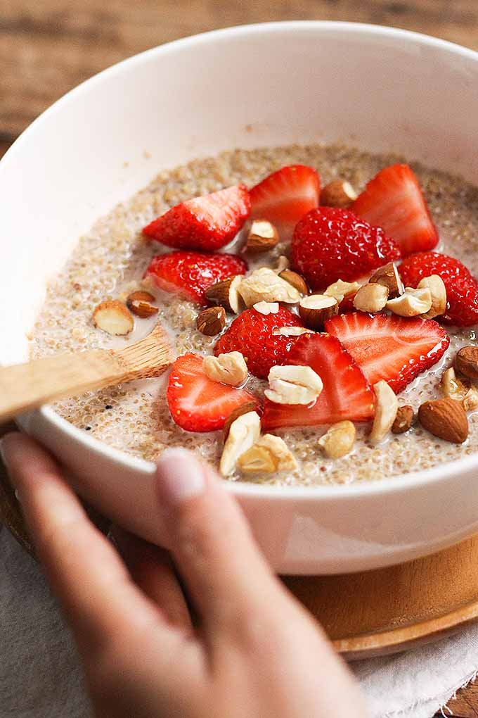 Love oatmeal, but tired of oats? Learn how to make a new kind of hot breakfast cereal, using quinoa instead! We share the recipe now: https://foodal.com/recipes/breakfast/quinoa-oatmeal/