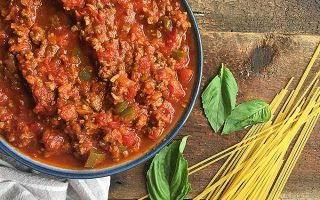 Slow Cooker Spaghetti Meat Sauce