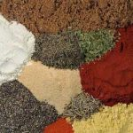 Close up of a top view of different kinds of spices that will be used to make the chicken dry rub | Foodal
