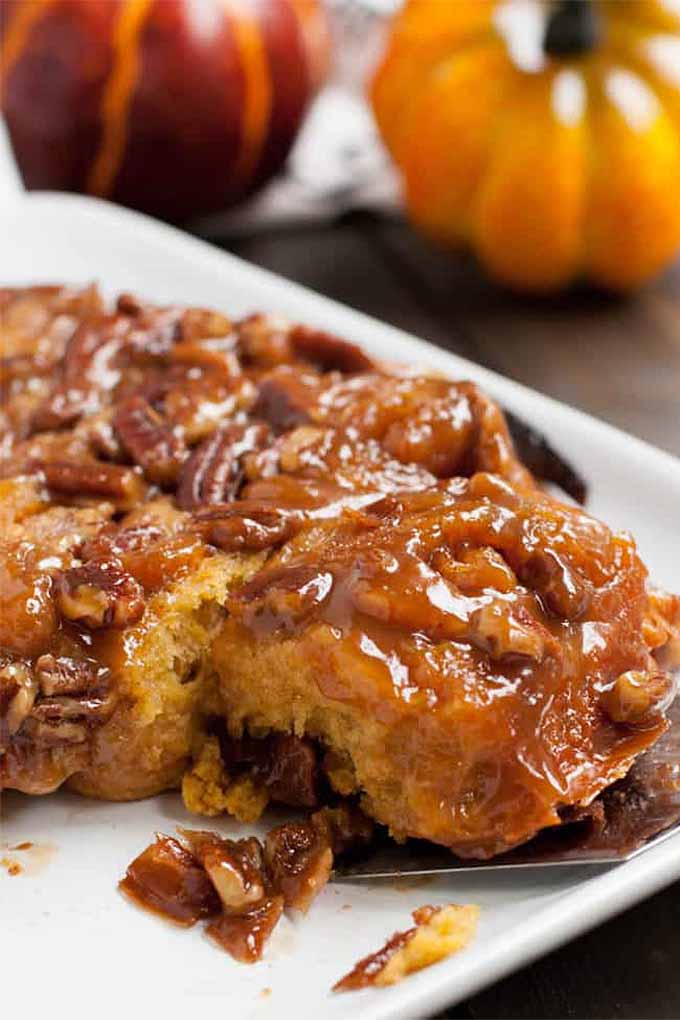 Love sticky buns? We've got the recipes for these and more in our fall recipe round up on Foodal: https://foodal.com/knowledge/paleo/best-pumpkin-recipes/
