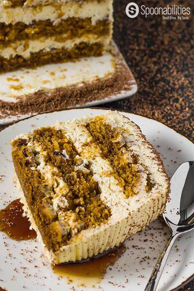 How about a slice of pumpkin tiramisu cake? We share this recipe and more in our fall flavors round up: https://foodal.com/knowledge/paleo/best-pumpkin-recipes/