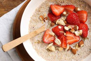 "Enjoy a Protein-Rich Start to Your Day with Quinoa ""Oatmeal"""