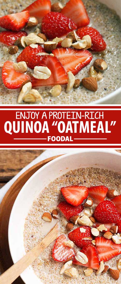 """Enjoy a Protein-Rich Start to Your Day with Quinoa """"Oatmeal"""""""