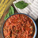 Recipe for Meat and Veggie Sauce | Foodal.com