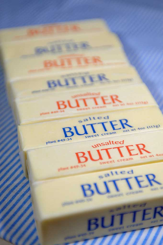 Are you confused about the type of butter you should be using in your baking? If so, have all of your questions answered with Foodal's Butter Baking Guide. Find out more now! https://foodal.com/knowledge/baking/unsalted-vs-salted-butter/