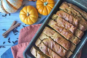 Have Some Fun this Fall With our Pumpkin Spice Nut Bread