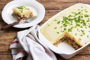 The Most Comforting Vegetarian Shepherd's Pie
