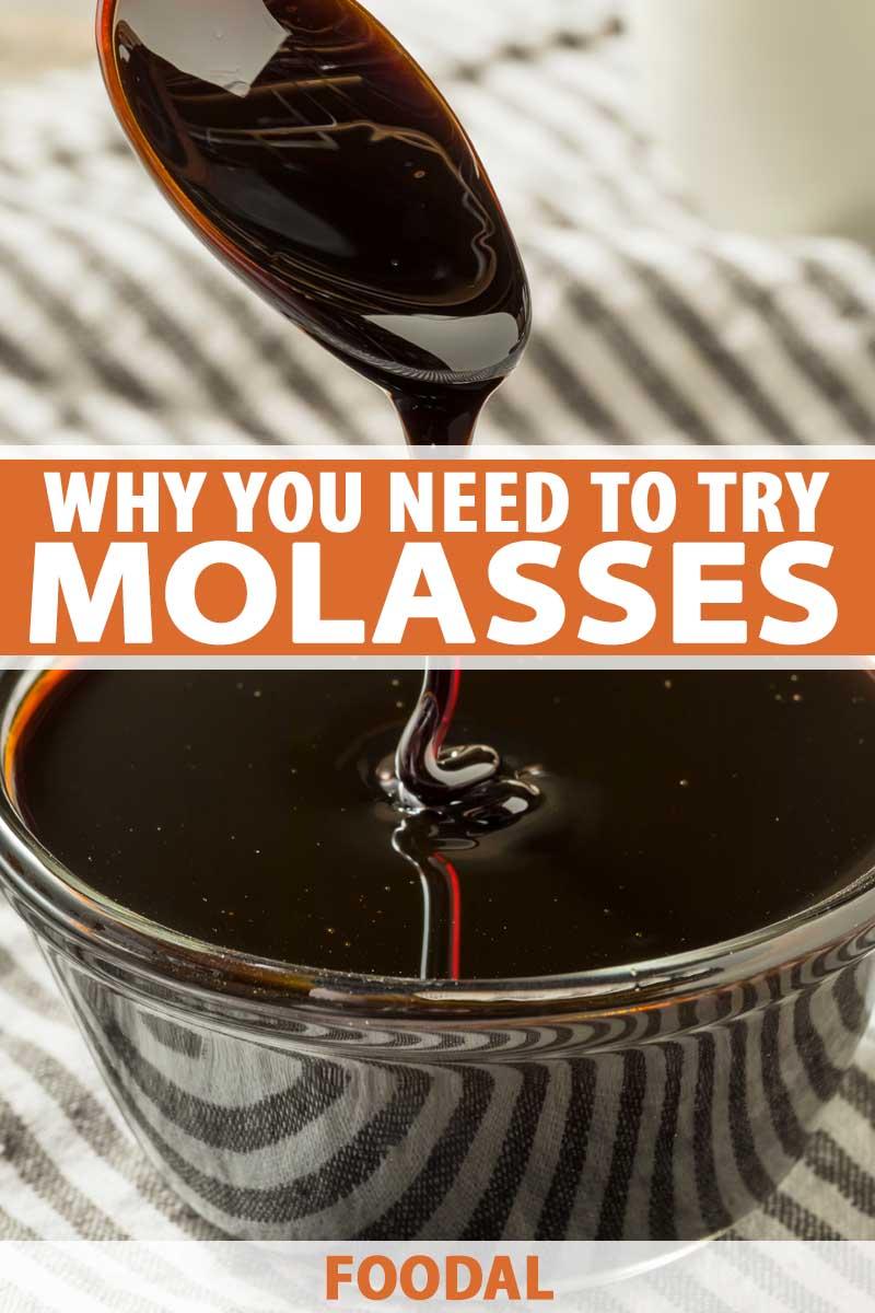 A clear bowl full of black molasses.